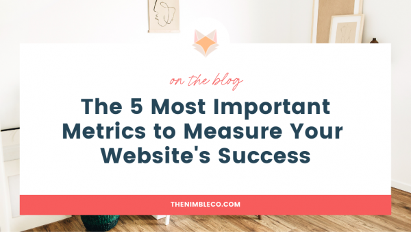 5 important metrics to meaure website