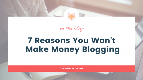 money blogging