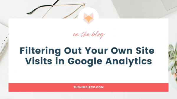 filtering out your own site traffic