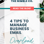 Manage business email overload