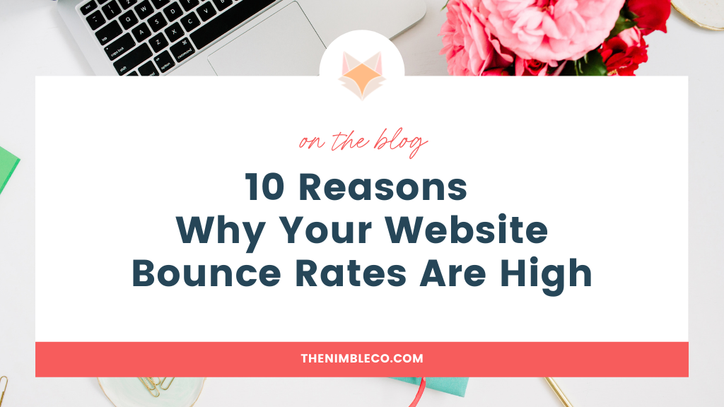 high bounce rates