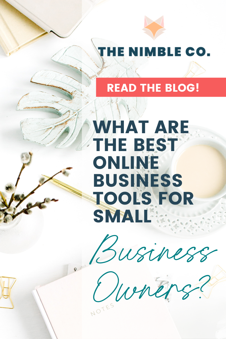 What Are The Best Online Business Tools for Small Business Owners? | The Nimble Co.