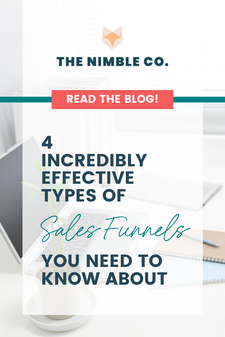 4 Incredibly Effective Types of Sales Funnels You Need to Know About | The Nimble Co