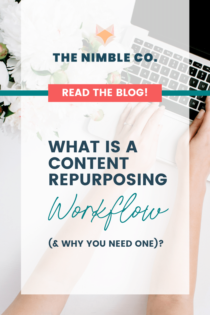 What Is a Content Repurposing Workflow (& Why You Need One)| The Nimble Co.