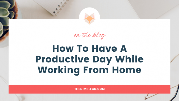 How-To-Have-A-Productive-Day-While-Working-From-Home