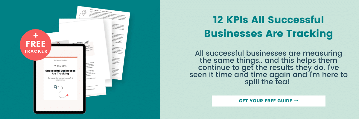 kpi's all successful businesses are tracking
